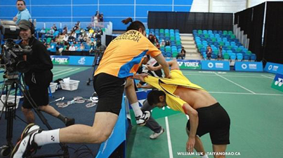 Badminton Fight: Two Ex-Olympic Badminton Teammates Got Into A Fist Fight In The Middle Of A Match