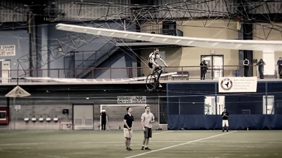 A Historic First: Human-Powered Helicopter by Aero Velo's Atlas