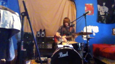 Raw Talent Of The Week: John Marek Plays Drums & Guitar (At The Same Time)