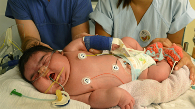 Meet Jasleen Germany's Heaviest Baby To Ever Be Born Vaginally at 13.47 Pounds
