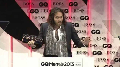 Russell Brand Was Kicked Out of The GQ Awards Show for This Hugo Boss Nazi Joke