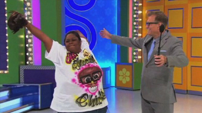 LOL: The Price Is Right Contestant Rips Off Her Wig In Excitement