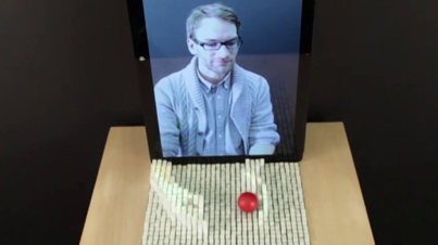 inFORM: 3D Display Can Form Moving Shapes and Interact with Physical Objects