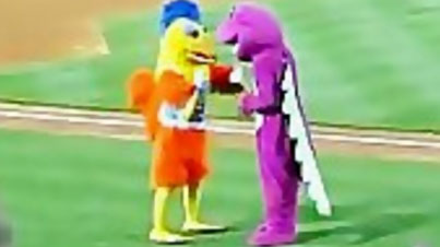 The Best Mascot Fight Ever (The Ending is the Best)