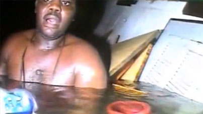 Surviving Hell: Diver Rescues Man Trapped For Three Days In Sunken Ship