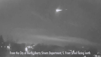 Huge Fireball Clip Of The Day: Meteor Lights Up Night Sky Over America's Midwest