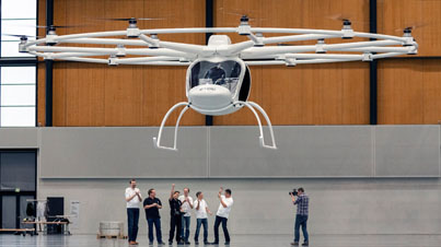 Volocopter: Electric-Powered Helicopter of the Future