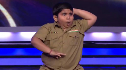 India's Got Talent: Chubby Indian Kid Has Some Real Nice Dance Moves