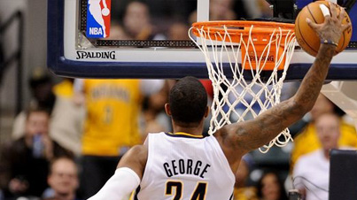 Dunk Of The Year: Paul George's 360 Monster Windmill Slam