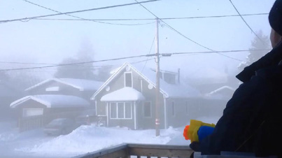 Subzero Temperature Clip Of The Day: Shooting Boiling Water From A Water Gun In Extreme Canadian Cold