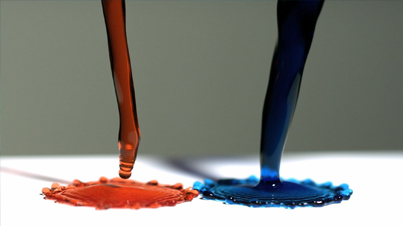 Slow-Mo Clip Of The Day: Super Hydrophobic Surface And Magnetic Liquids In Slow Motion