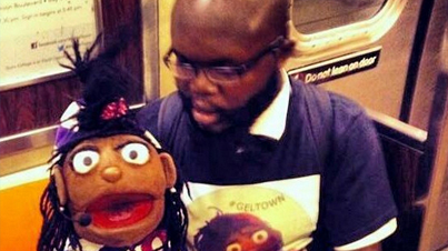 He's His Own Wingman: Smooth Ventriloquist Picks Up Girls On The Subway