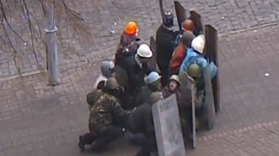 Bun Down The System: Graphic Footage Of Ukrainian Protesters Being Shot