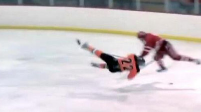 Massive High School Hockey Hit: Easily One of The Hardest Hockey Hits We Have Ever Seen