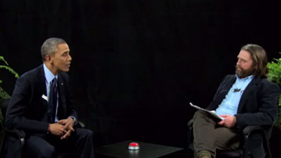 Lions Den of Stupidity: Obama Does 'Between Two Ferns' with Zach Galifanakis