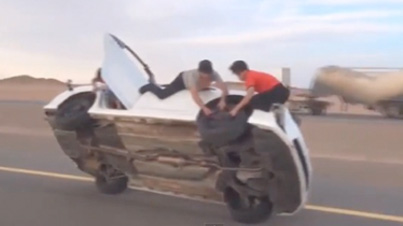 Apparently No One Wears Seat Belts: Saudi Drift Fails (Compilation)