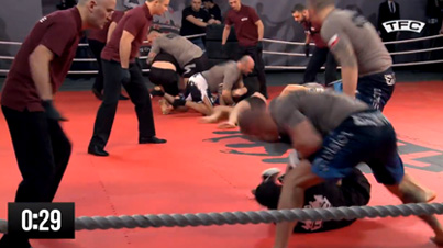 This Is Crazy: 5-On-5 MMA Team Fighting