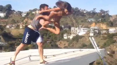 Instagram Playboy Dan Bilzerian Throws A Naked Porn Star Off His Roof (NSFW)