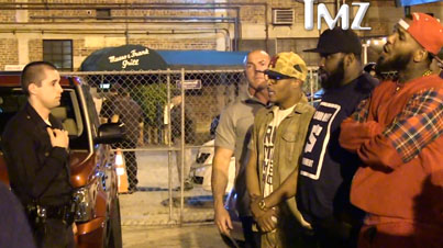 The Game and T.I. Almost Get In A Brawl With the LAPD After Fight Breaks Out Outside Club
