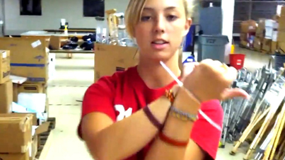 Save This For Future Use: This Girl Shows You How To Break Out Of Zip Ties