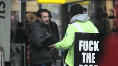Social Experiment: What Happens When You Tell People 'F*ck The Poor'