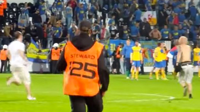 Slovakian Soccer Fans Don't Mess Around: Dude Knocks Out Opposition Fan With 1 Punch & Escapes From Police