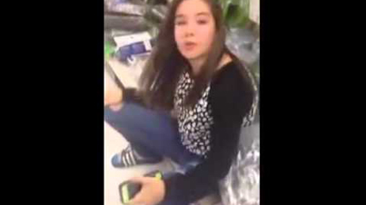 Faith In Humanity Lost: Girl Takes A P*ss In The Middle Of A Wal-Mart
