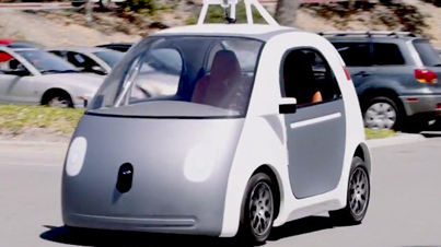 The Future Is Here: Google Reveals Its New Self-Driving Car With No Steering Wheel, Gas Pedal Or Brakes