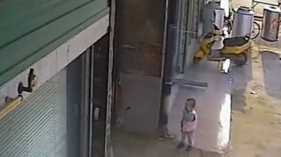 Caught On Film: Man Picks Up And Tosses Baby Into The Air