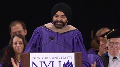 Motivation: Master Card CEO Ajay Banga Gives Speech to NYU Graduates