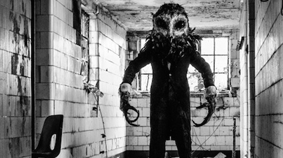 Creepy Owlman Scares The Sh*t Out Of People Exploring Abandoned Hospital (Prank)