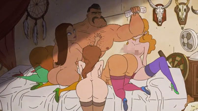Banned PSA: This Cartoon Full Of Orgies And Random Violence Is Used To Get People To Vote In Denmark (NSFW)