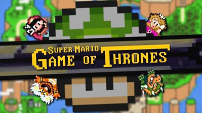 This Is What It Would Look Like If Game Of Thrones Were Set In Super Mario World