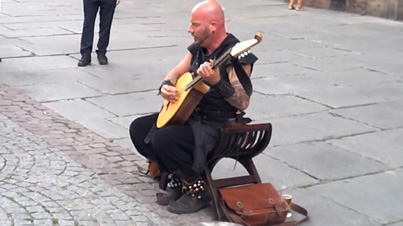 Raw Talent: This Street Performer In France Has A Unique Singing Voice