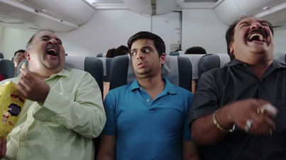 Hilarious: What Actually Happens Inside An Indian Airplane