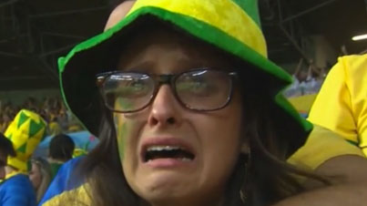 Germany Destroys Brazil 7-1 In World Cup Semifinal (WWE Jim Ross Commentary)
