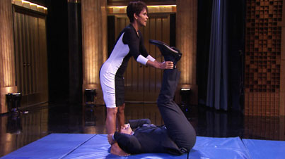 Jimmy Fallon Is One Lucky Dude: This Is How We Roll Featuring Halle Berry