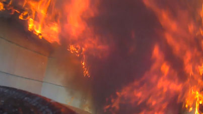 Raw Helmet Footage: This Is What It's Like To Be A Firefighter