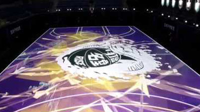 House Of Mamba: Nike Changes The Game With The First-Ever Reactive LED Basketball Court