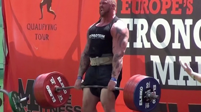 He's A Beast: The Mountain From Game Of Thrones Won Europe's Strongest Man Competition