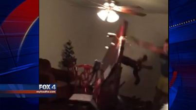 LOL: Dallas Cowboys Fan Goes Crazy And Destroys His House After Redskins Win