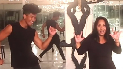Killed It: Deaf Mom And Her Son Destroy The Dance Floor