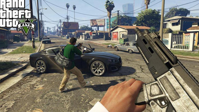 Grand Theft Auto 5: A New Perspective (First Person Mode Video Game Trailer)