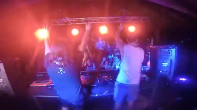 Clumsy Motherf*ckers: Idiot DJs Shut Down Their Own Party