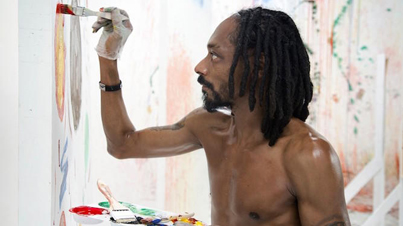 """Man Of Many Talents: Snoop Dogg Paints and Talks """"The Art of Inspiration"""""""