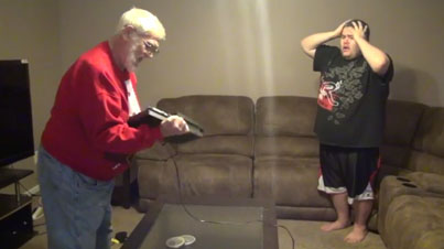 Angry Grandpa Loses His Mind After Son Forgets To Bake Him ...