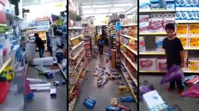 You Hit Me With That, You Gonna Lose Your Life: Crazy Little Boy Destroys Dollar Store