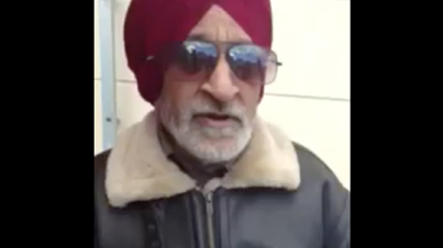 """Too Funny: Old Indian Dude Gets Hyped And Sings """"G.T. Road Te"""""""