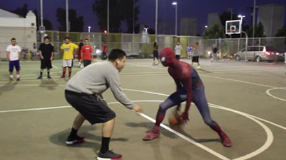 Nothin' But Web: Spiderman Is Back At It Beating People In Basketball (Part 5)