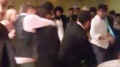 Meanwhile At An Indian Wedding: Bhangra Dance Off Turns Into A Massive Brawl